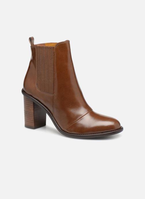 Stivaletti e tronchetti Made by SARENZA Soft Folk Boots #13 Marrone immagine destra