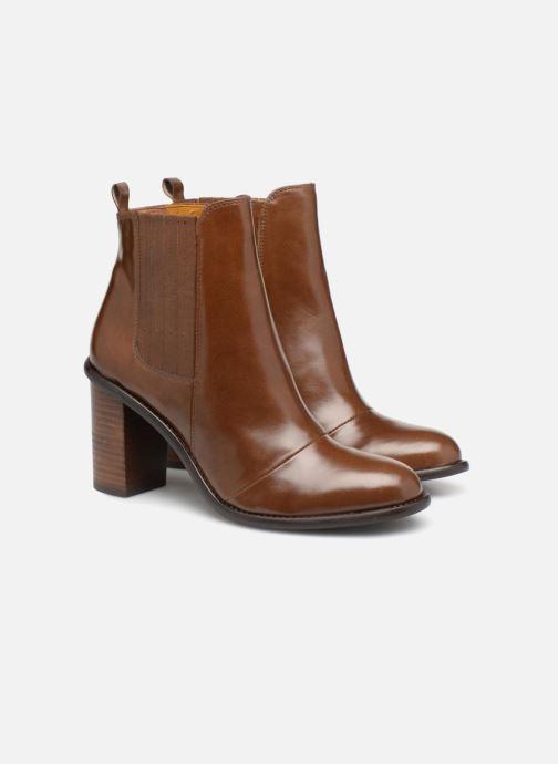 Stivaletti e tronchetti Made by SARENZA Soft Folk Boots #13 Marrone immagine posteriore