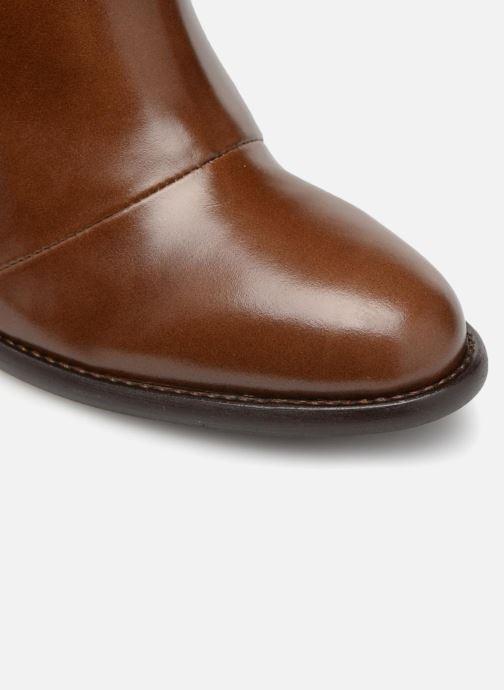 Stiefeletten & Boots Made by SARENZA Soft Folk Boots #13 braun ansicht von links