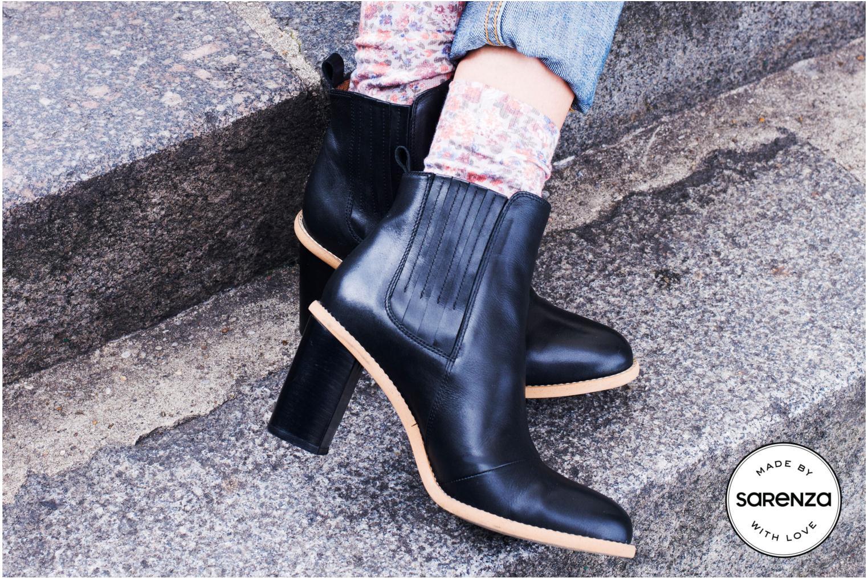 Stiefeletten & Boots Made by SARENZA Toundra Girl Bottines à Talons #1 schwarz 3 von 4 ansichten