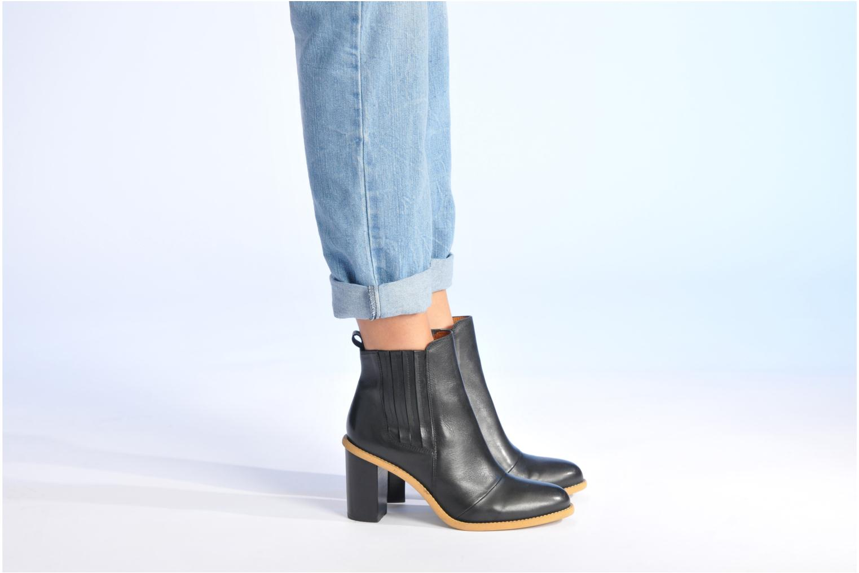 Stiefeletten & Boots Made by SARENZA Toundra Girl Bottines à Talons #1 schwarz ansicht von unten / tasche getragen