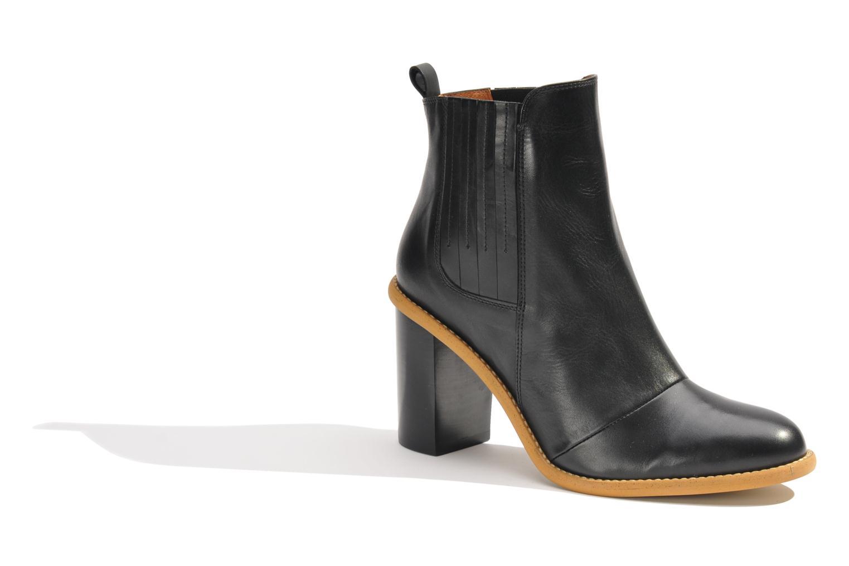 Stiefeletten & Boots Made by SARENZA Toundra Girl Bottines à Talons #1 schwarz ansicht von rechts