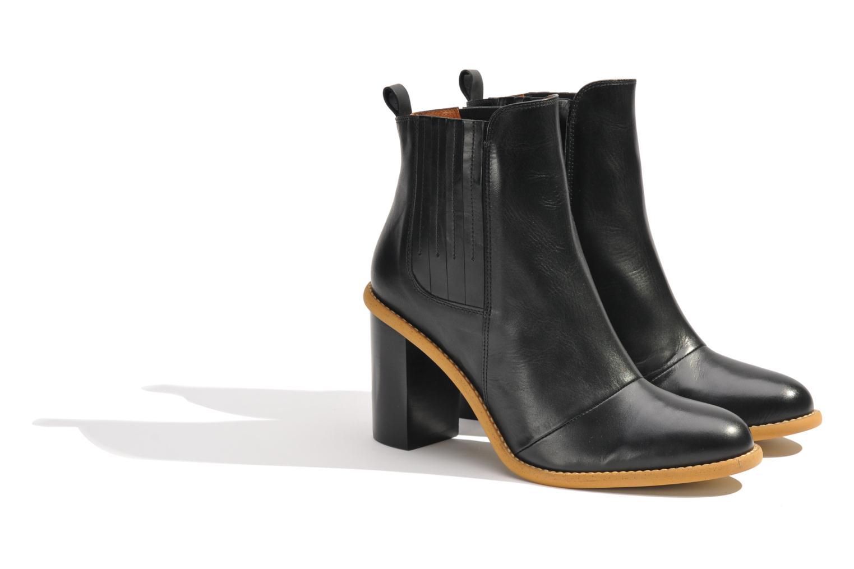 Stiefeletten & Boots Made by SARENZA Toundra Girl Bottines à Talons #1 schwarz ansicht von hinten