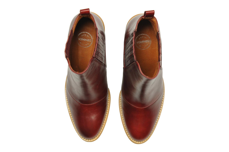 Stiefeletten & Boots Made by SARENZA Toundra Girl Bottines à Talons #1 weinrot schuhe getragen