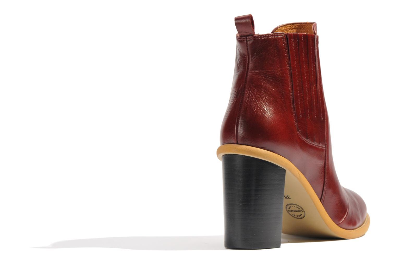 Stiefeletten & Boots Made by SARENZA Toundra Girl Bottines à Talons #1 weinrot ansicht von vorne
