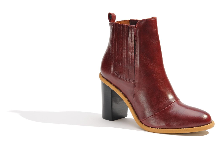 Stiefeletten & Boots Made by SARENZA Toundra Girl Bottines à Talons #1 weinrot ansicht von rechts