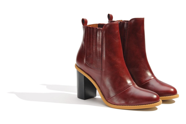 Stiefeletten & Boots Made by SARENZA Toundra Girl Bottines à Talons #1 weinrot ansicht von hinten