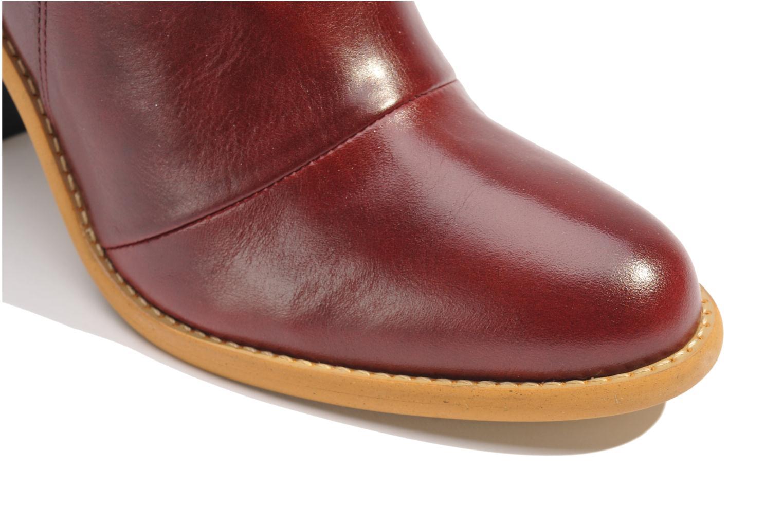 Stiefeletten & Boots Made by SARENZA Toundra Girl Bottines à Talons #1 weinrot ansicht von oben