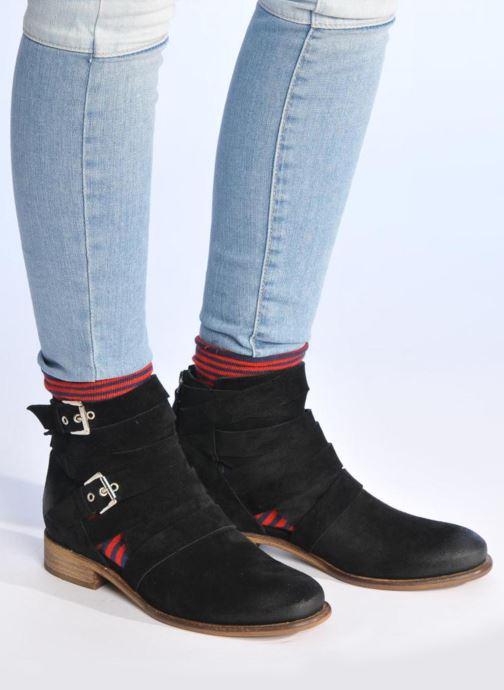 Boots en enkellaarsjes Made by SARENZA Buttes-Chaumont #7 Zwart onder