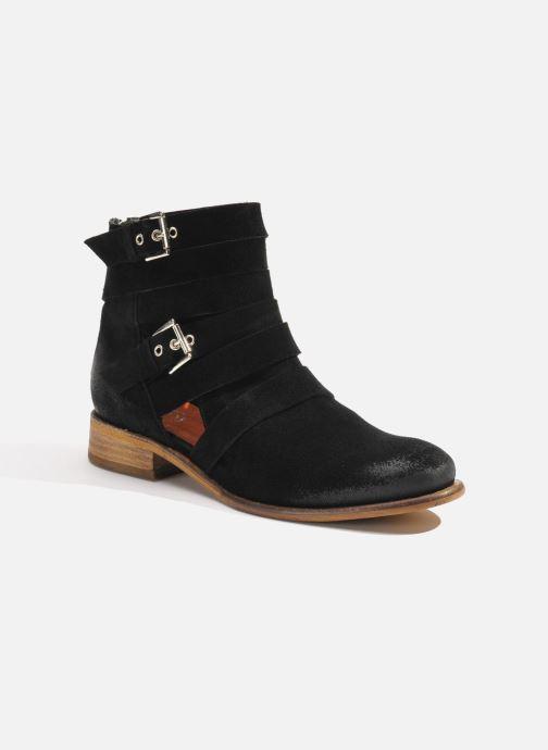 Bottines et boots Made by SARENZA Buttes-Chaumont #7 Noir vue droite