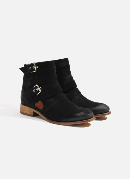 Boots en enkellaarsjes Made by SARENZA Buttes-Chaumont #7 Zwart achterkant