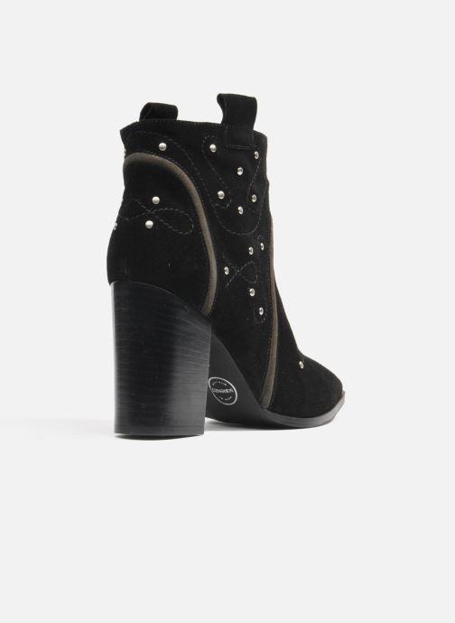 Bottines et boots Made by SARENZA Buttes-Chaumont #1 Noir vue portées chaussures