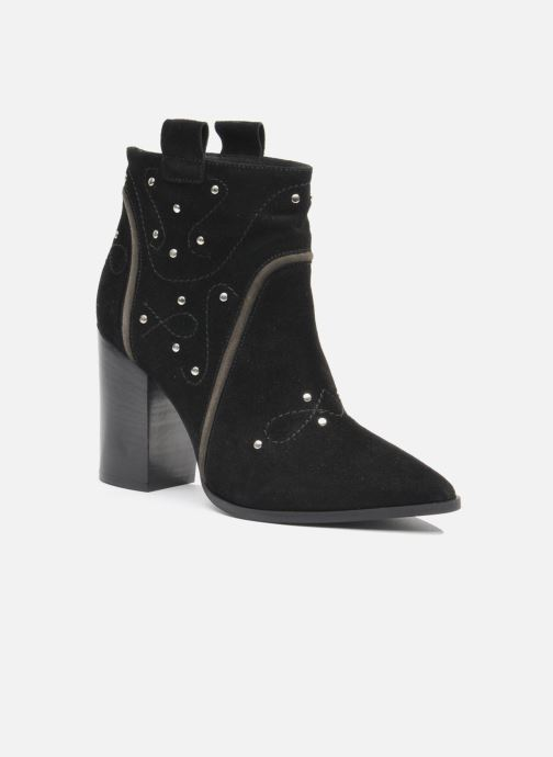Bottines et boots Made by SARENZA Buttes-Chaumont #1 Noir vue droite