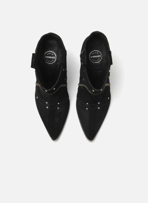 Bottines et boots Made by SARENZA Buttes-Chaumont #1 Noir vue haut