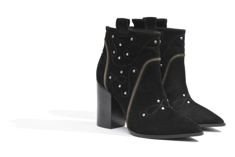 Boots en enkellaarsjes Made by SARENZA Buttes-Chaumont #1 Zwart achterkant