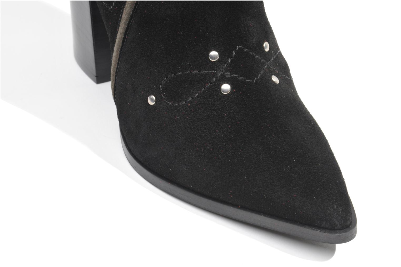 Boots en enkellaarsjes Made by SARENZA Buttes-Chaumont #1 Zwart links