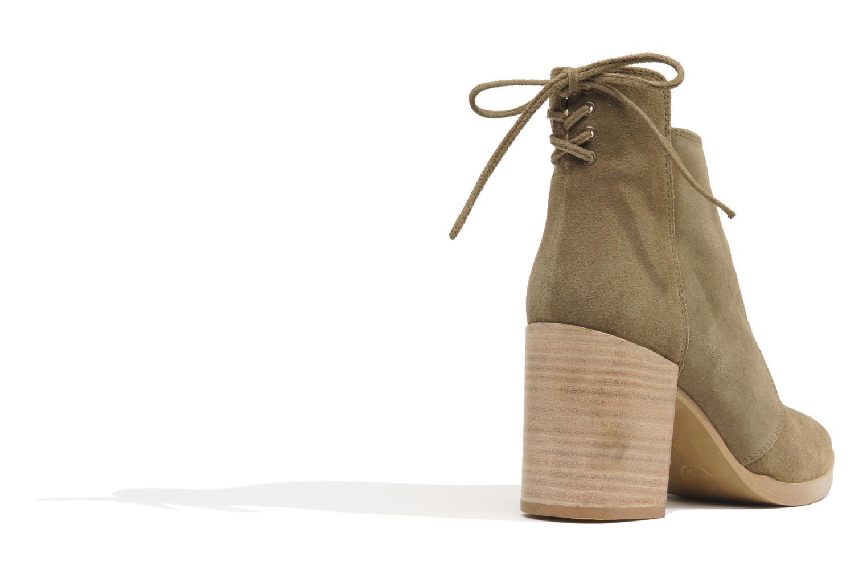 Bottines et boots Made by SARENZA Buttes-Chaumont #2 Beige vue portées chaussures