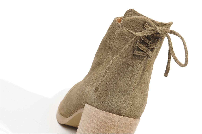 Bottines et boots Made by SARENZA Buttes-Chaumont #2 Beige vue derrière