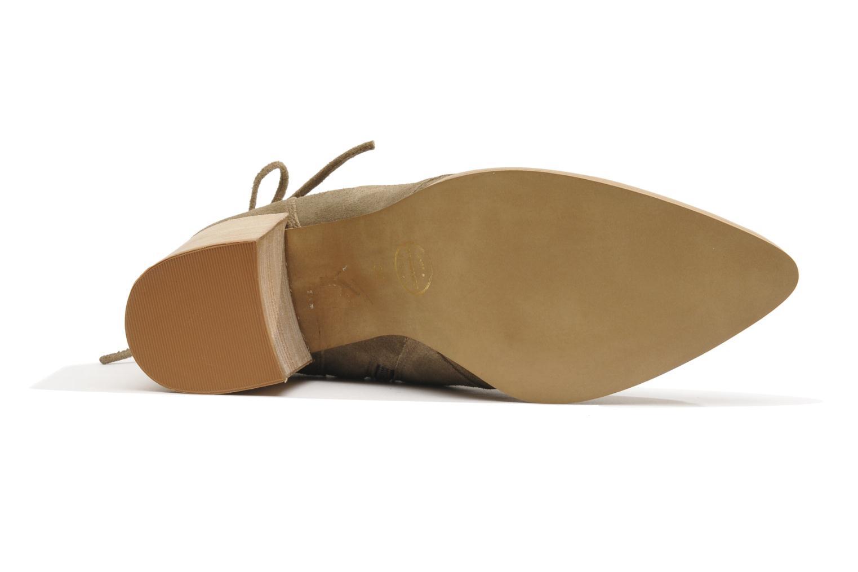 Bottines et boots Made by SARENZA Buttes-Chaumont #2 Beige vue gauche