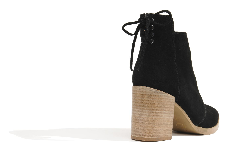Bottines et boots Made by SARENZA Buttes-Chaumont #2 Noir vue portées chaussures