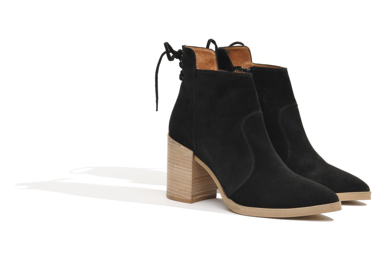 Bottines et boots Made by SARENZA Buttes-Chaumont #2 Noir vue droite