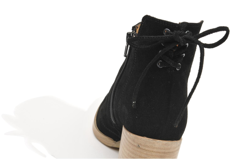 Bottines et boots Made by SARENZA Buttes-Chaumont #2 Noir vue derrière