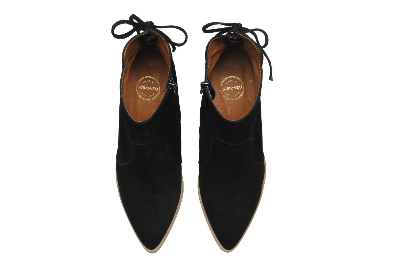 Bottines et boots Made by SARENZA Buttes-Chaumont #2 Noir vue haut