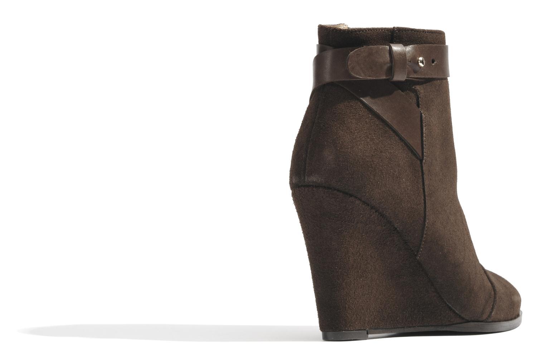 Bottines et boots Made by SARENZA Rue des Dames #7 Marron vue face