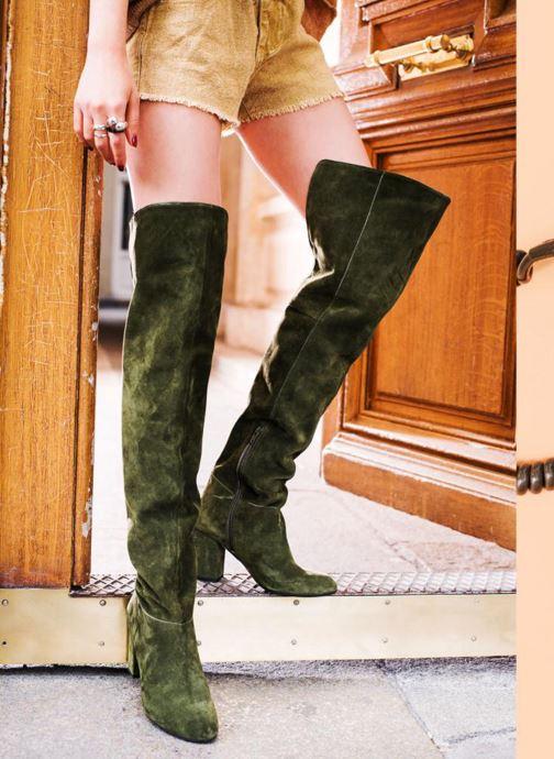 Bottes Made by SARENZA Boots Camp #13 Vert vue 3/4