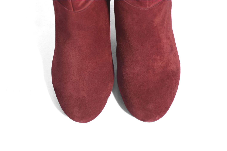 Bottes Made by SARENZA Boots Camp #13 Bordeaux vue portées chaussures