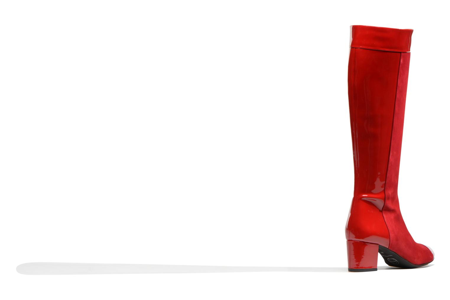 Boots & wellies Made by SARENZA Boots Camp #4 Red front view