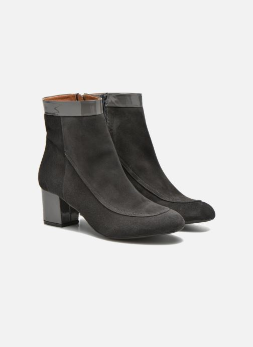 Stiefeletten & Boots Made by SARENZA Queens Cross #17 grau ansicht von hinten