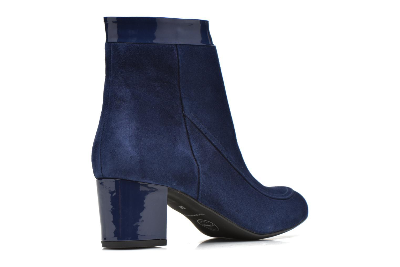 Bottines et boots Made by SARENZA Queens Cross #17 Bleu vue face