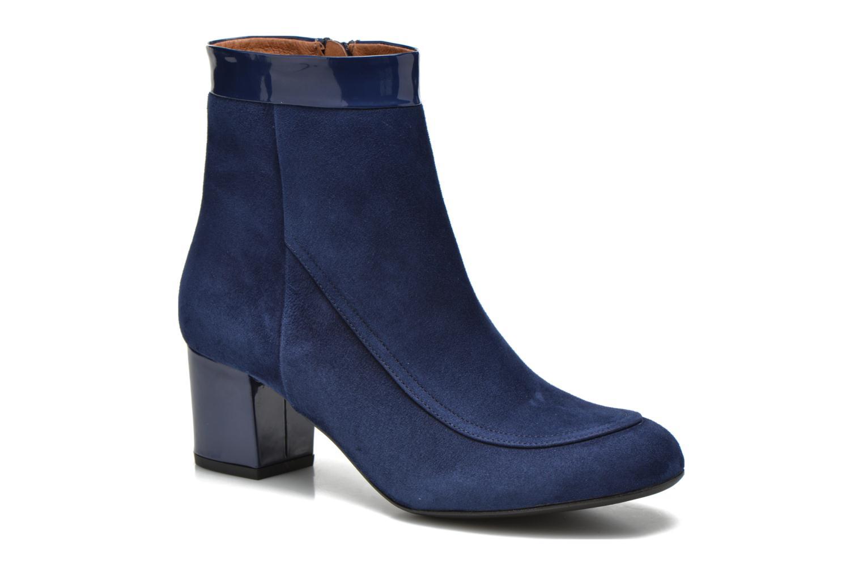 Bottines et boots Made by SARENZA Queens Cross #17 Bleu vue droite
