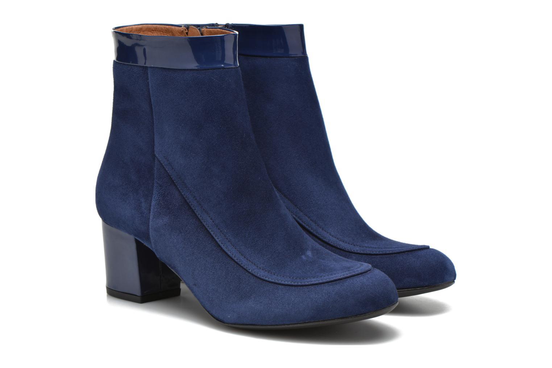 Bottines et boots Made by SARENZA Queens Cross #17 Bleu vue derrière