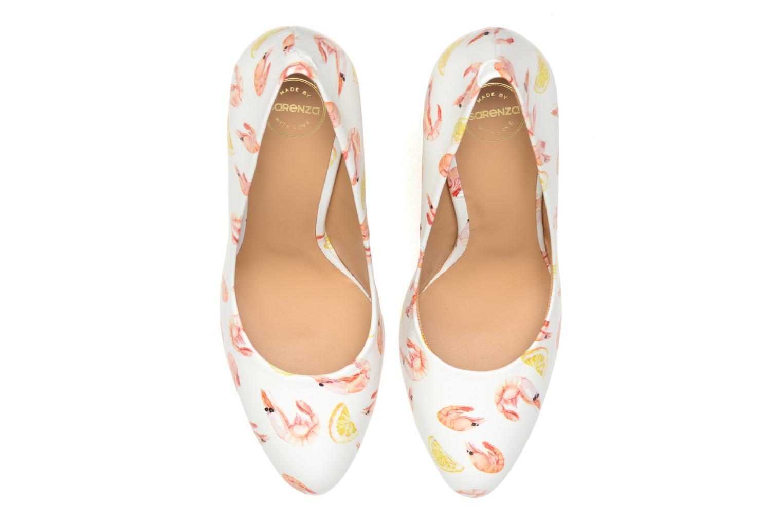 Escarpins Made by SARENZA Glaçons citrons #18 Multicolore vue portées chaussures
