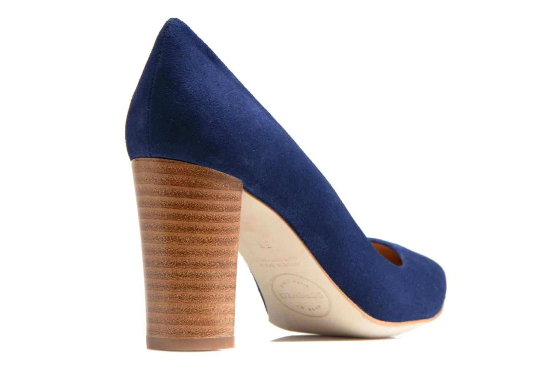 Escarpins Made by SARENZA Glaçons citrons #16 Bleu vue face