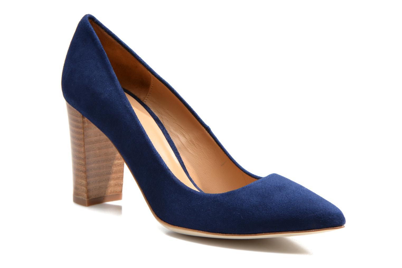 Escarpins Made by SARENZA Glaçons citrons #16 Bleu vue droite