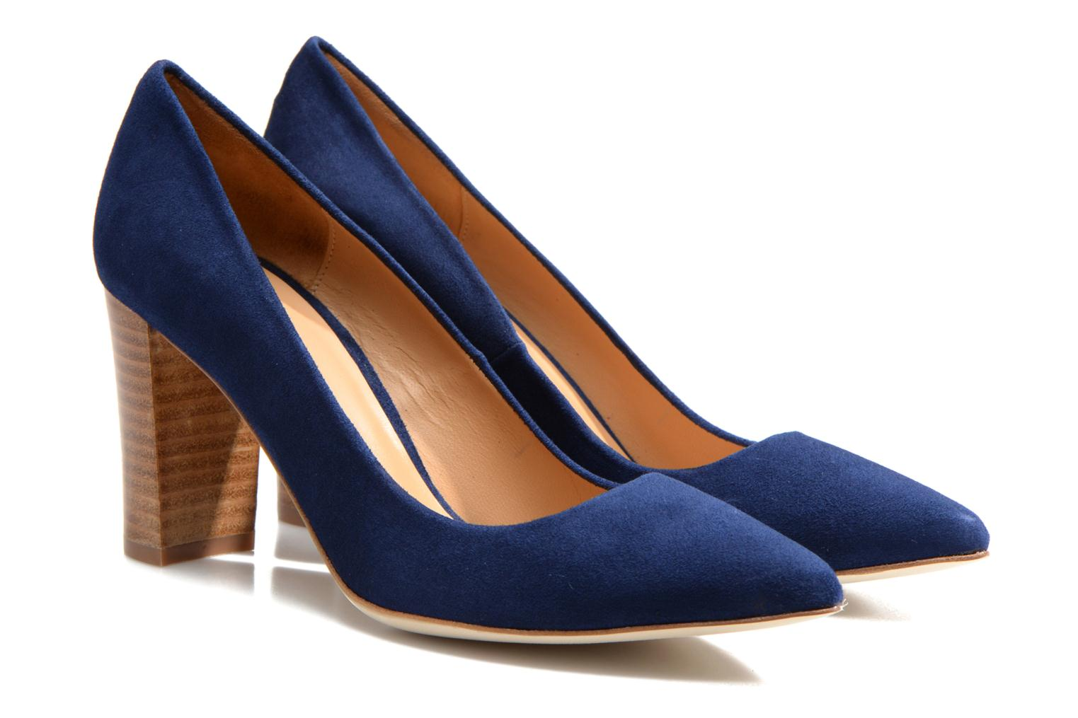Pumps Made by SARENZA Glaçons citrons #16 Blauw achterkant