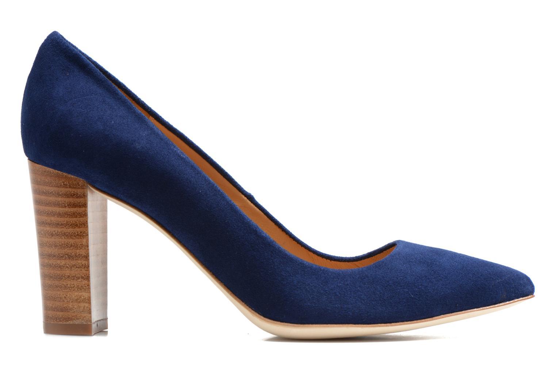 Escarpins Made by SARENZA Glaçons citrons #16 Bleu vue détail/paire