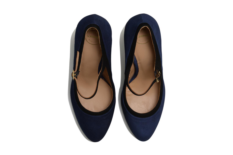 Escarpins Made by SARENZA Flore Thirties #13 Bleu vue portées chaussures