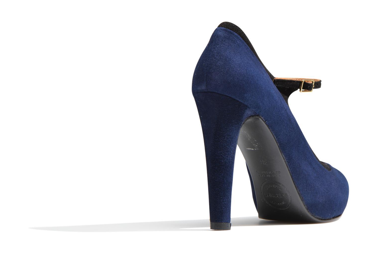 Escarpins Made by SARENZA Flore Thirties #13 Bleu vue face
