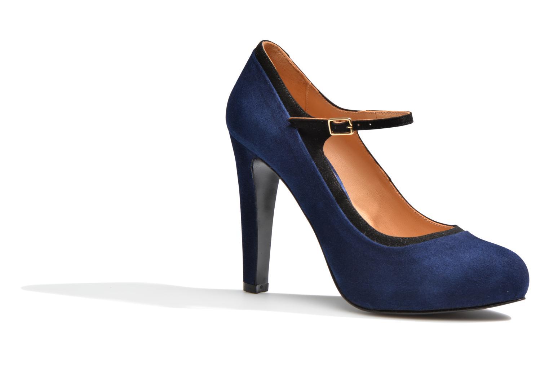 Escarpins Made by SARENZA Flore Thirties #13 Bleu vue droite