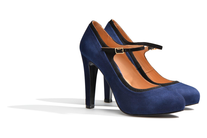 Escarpins Made by SARENZA Flore Thirties #13 Bleu vue derrière