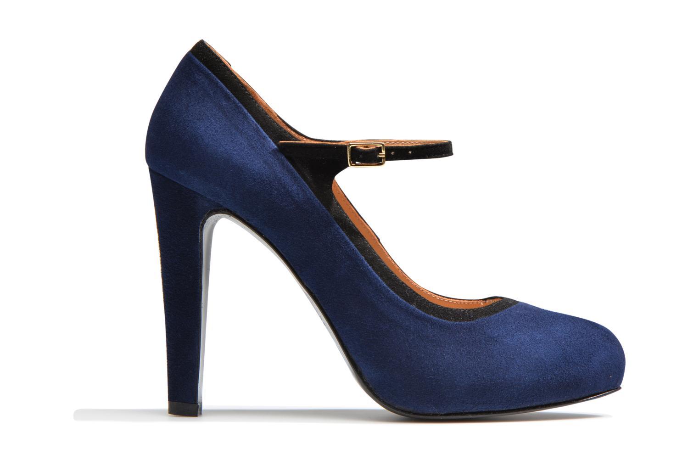 Escarpins Made by SARENZA Flore Thirties #13 Bleu vue détail/paire