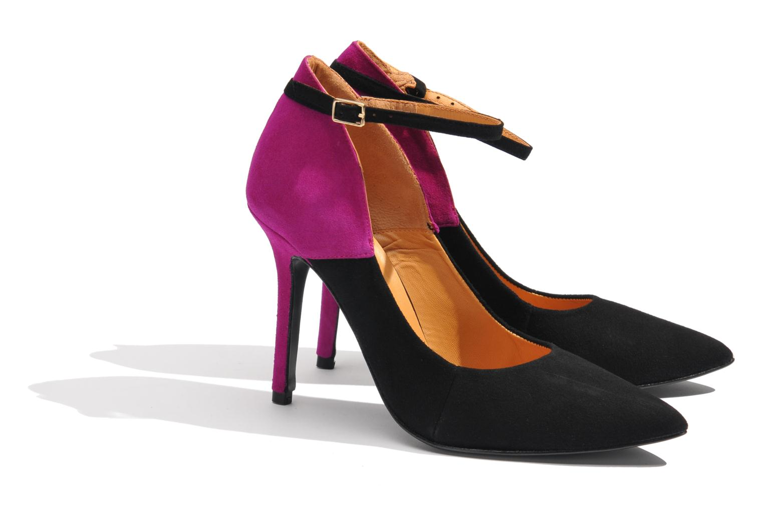 Pumps Made by SARENZA Monceau #15 Paars achterkant
