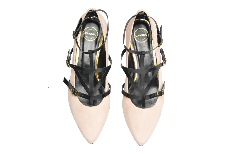 Ballerines Made by SARENZA Bataclan #1 Rose vue portées chaussures