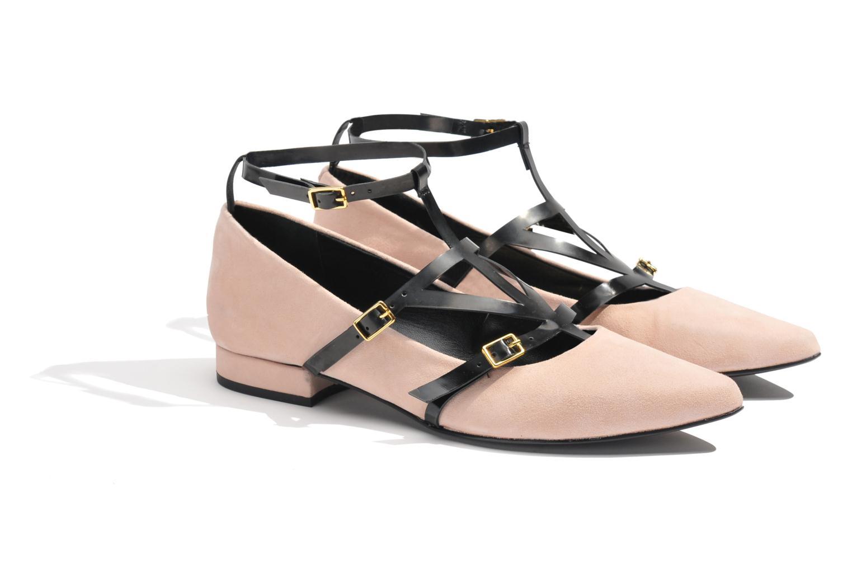 Ballerina's Made by SARENZA Bataclan #1 Roze achterkant