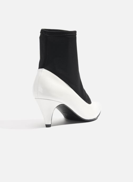 Ankle boots Made by SARENZA Bataclan #6 White front view