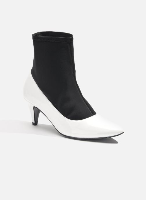 Ankle boots Made by SARENZA Bataclan #6 White view from the right